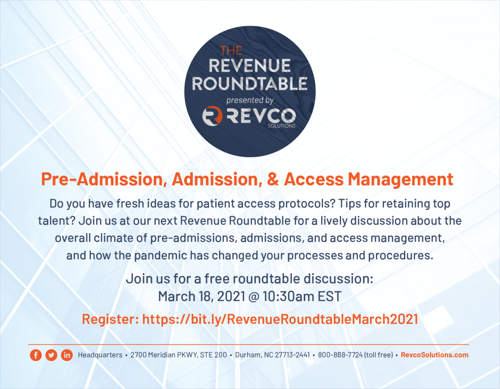 Revco Solutions Revenue Roundtable_March 2021_Access Management